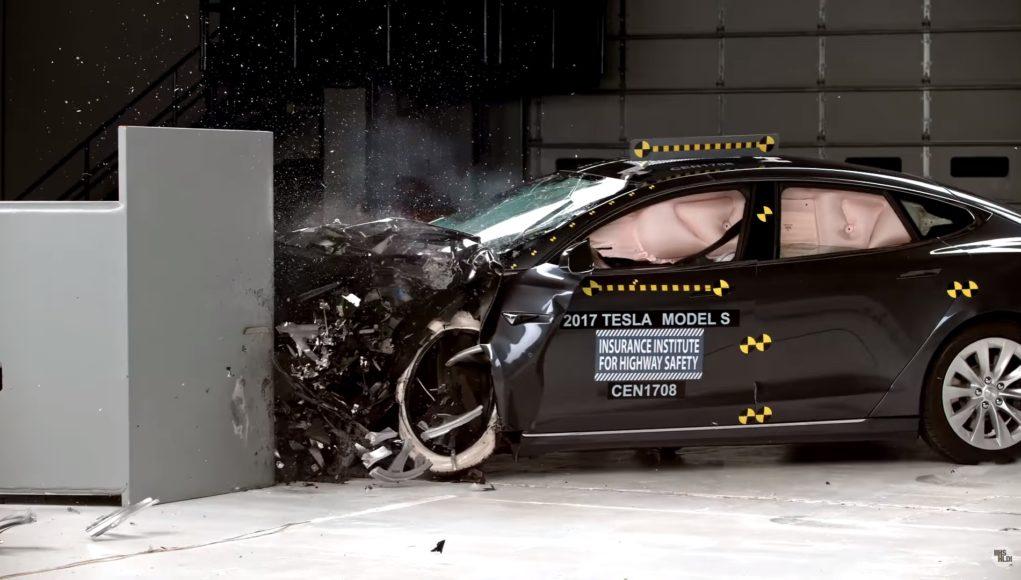 crash test sécurité tesla model s