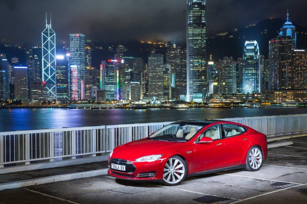 En avril à Hong Kong, les ventes de Tesla tombent à zéro