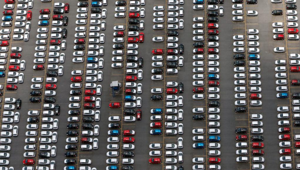 parc automobile tesla essence diesel 2040