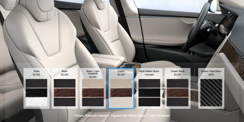 Des sièges vegans pour les voitures Tesla