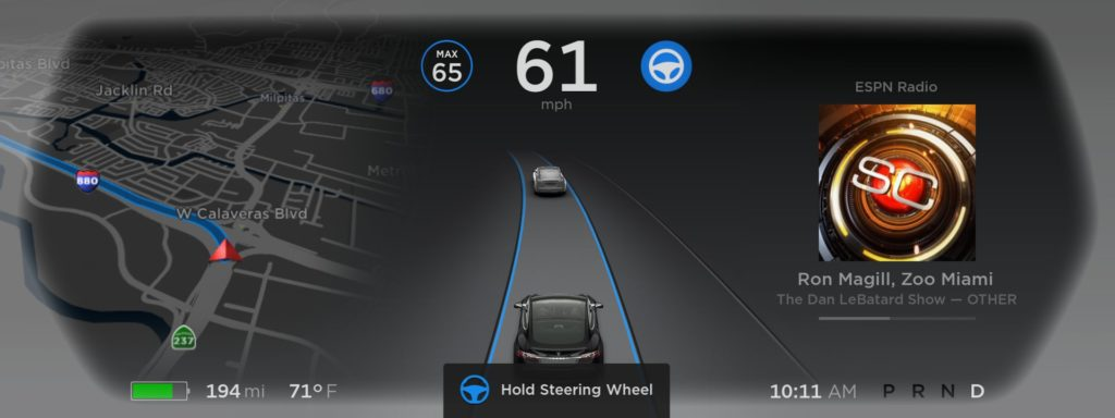 Tesla met à jour ses véhicules pour aider à fuir l'ouragan Irma