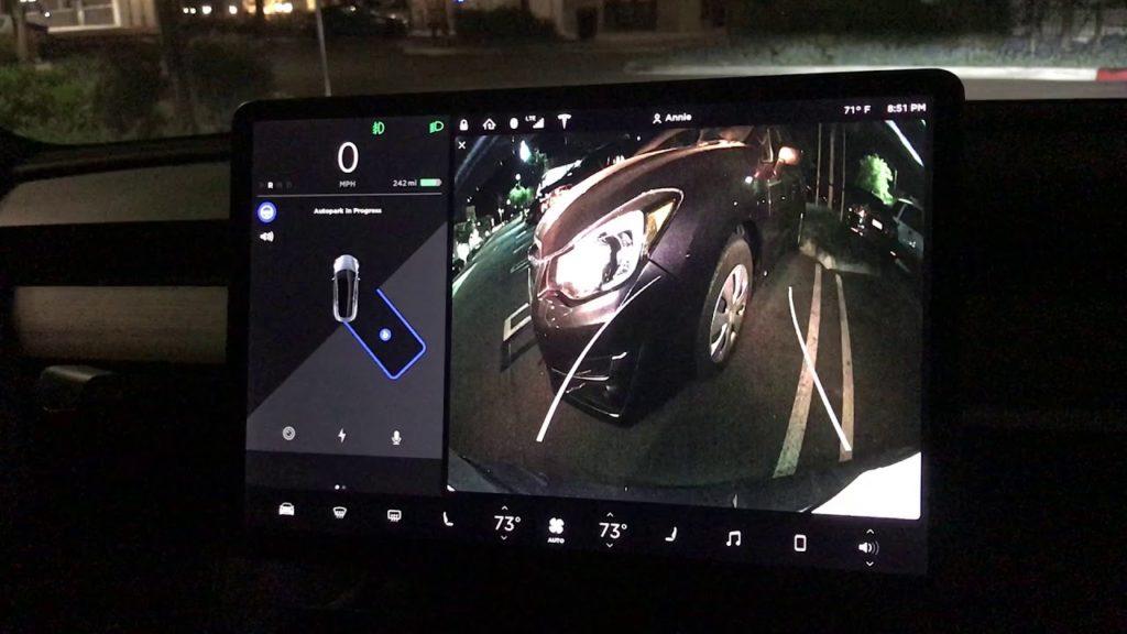 Le stationnement autonome « Autopark » pour le Tesla Model 3