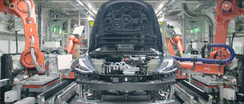 Tesla Model 3 Assemblage Production