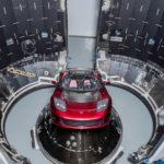 Le Tesla Roadster prêt pour son voyage sur Mars