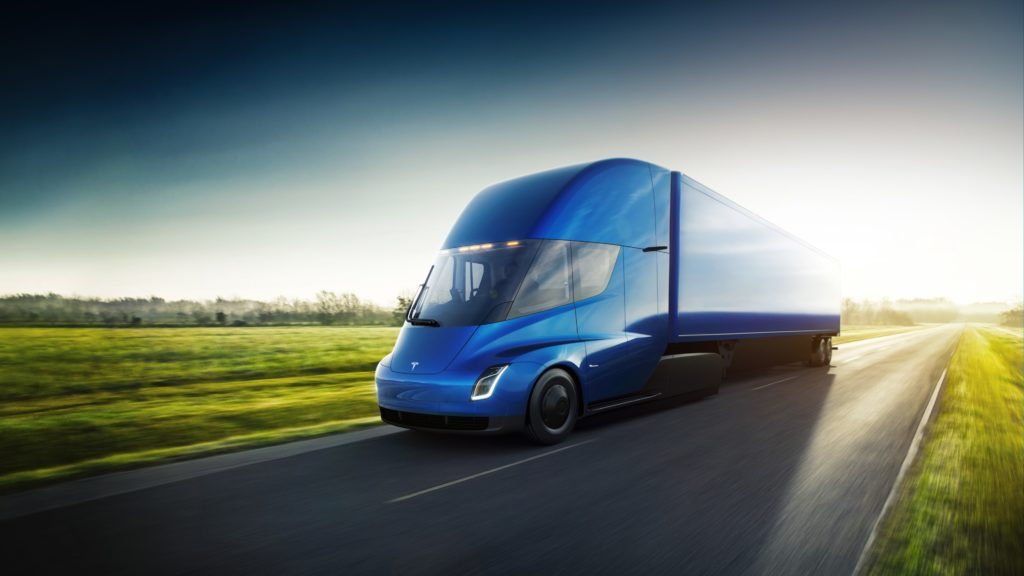 Commandes Tesla Semi