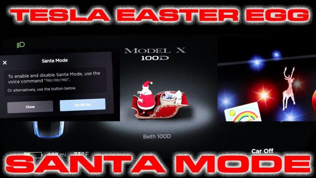 Tesla fête Noël avec ses conducteurs