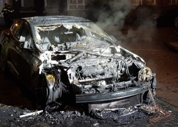Tesla Model S incendiée à Amsterdam