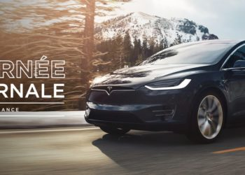 La tournée hivernale 2018 de Tesla en haute montagne