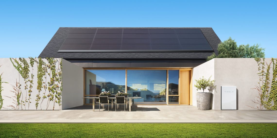 Installation Powerwall 2 et Tesla Roof en Australie du Sud