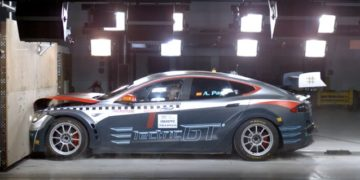 electric gt tesla model s championnat course electrique