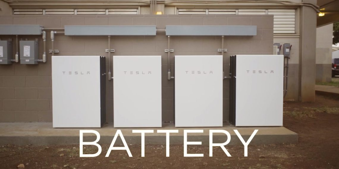 Powerwall Tesla Ecoles Hawaï Batterie