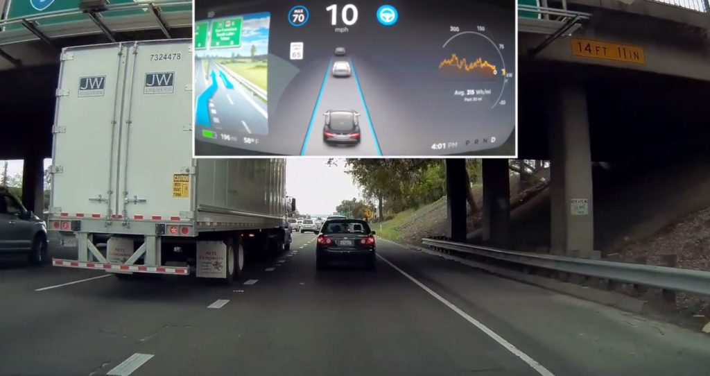 """""""La dernière mise à jour de l'Autopilot de Tesla impressionne"""" est verrouillé La dernière mise à jour de l'Autopilot de Tesla impressionne"""