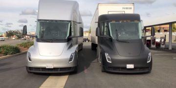 Les prototypes du Tesla Semi effectuent leur toute première livraison