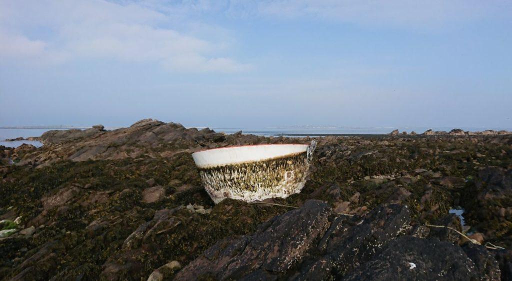 SpaceX : un morceau de fusée retrouvé en Bretagne sur l'île de Quémènes