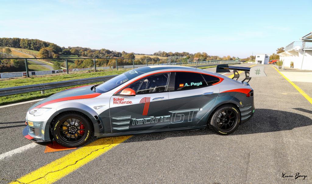 Electric GT : Les dates du championnat de course en Tesla dévoilées