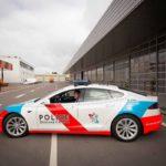 Les nouvelles Tesla de la police luxembourgeoise sont arrivées