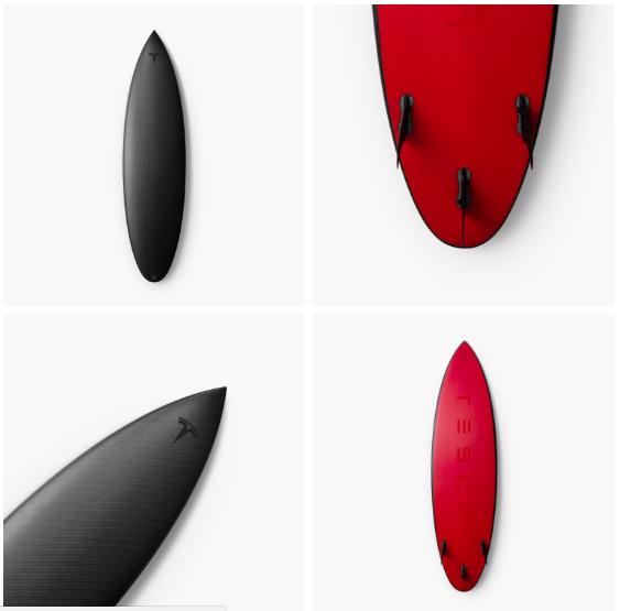 Tesla vend désormais une planche de surf