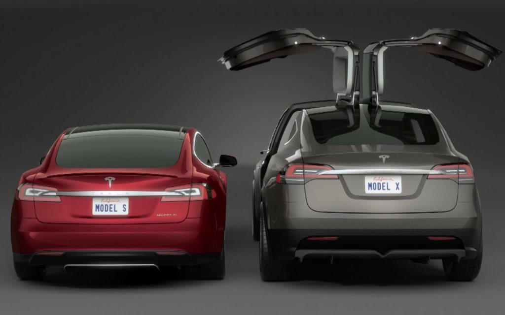 tesla options Model X