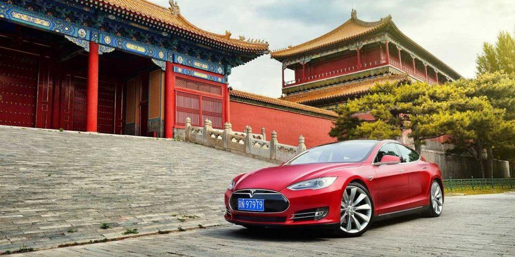 usine Tesla en chine