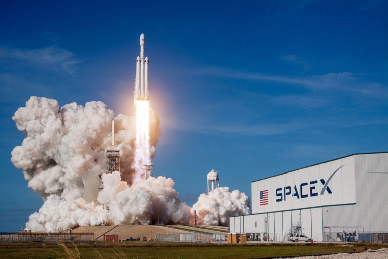 premier vol spacex