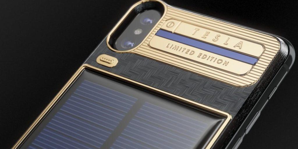 iPhone X Tesla 2